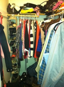2013 01 07 Closet update - what a mess