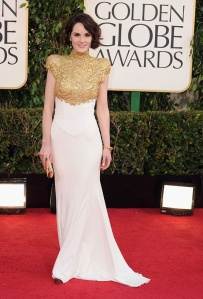 Michelle Dockery in Alexandre Vautnier Haute Couture - photo courtesy of movies.yahoo.com