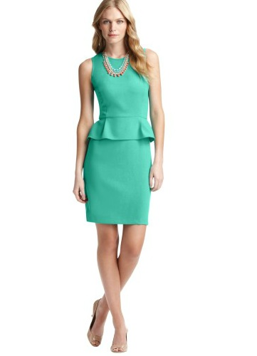 Photo courtesy of: http://www.loft.com/loft/product/product%3A291884/LOFT-work-it-dresses/Peplum-Hem-Dress-in-LOFT-Scuba/291884?colorExplode=false&skuId=13067779&catid=cat640036&productPageType=search&defaultColor=5221