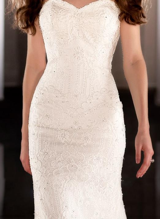 Martina Liana, 423, wedding gown, Parisian lace, swarovski crystals,