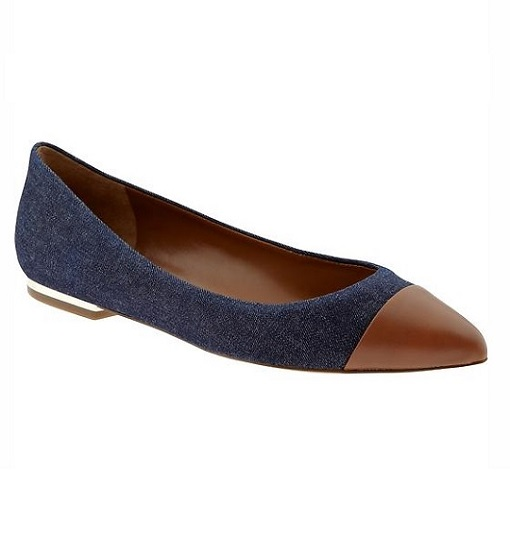 Banana Republic Carina Pointed Toe Flat 510