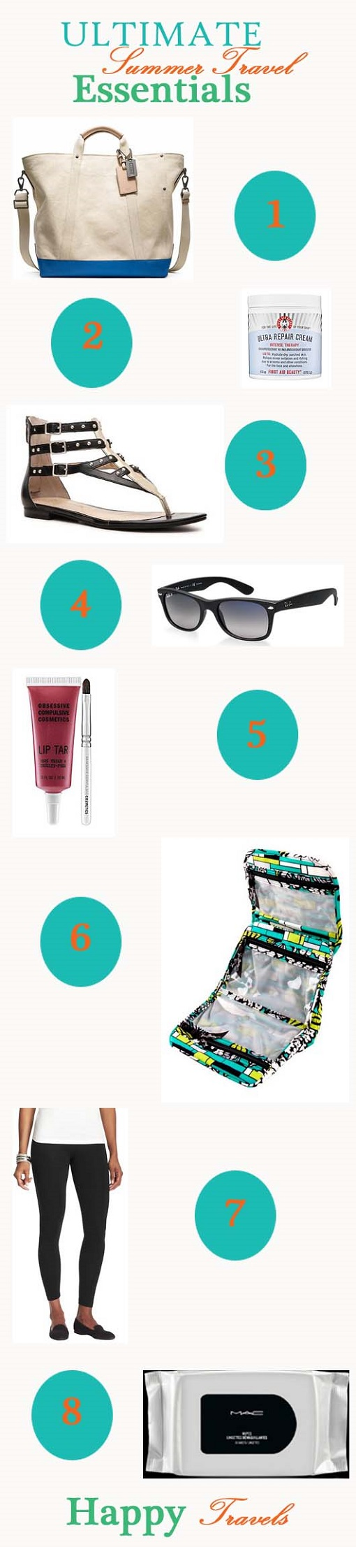 Ultimate Summer Travel Essentials 510
