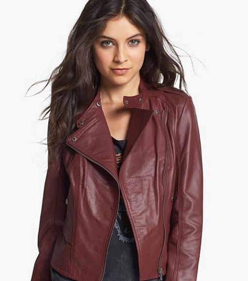 Nordstrom Leather jacket 510