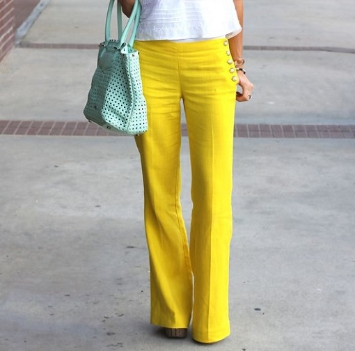 yellow pants 510